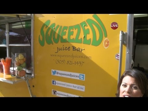 Squeezed Juice Bar Food Truck