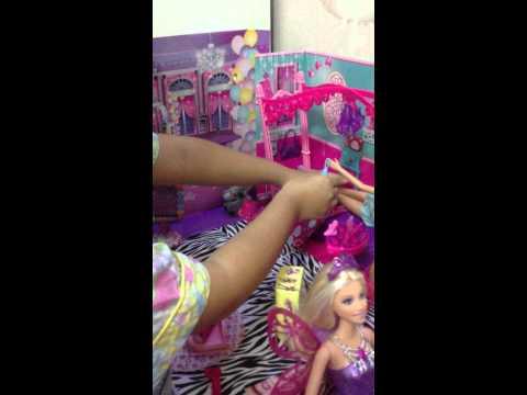nhà búp bê Barbie của bé Hồng Phúc(pt.1)