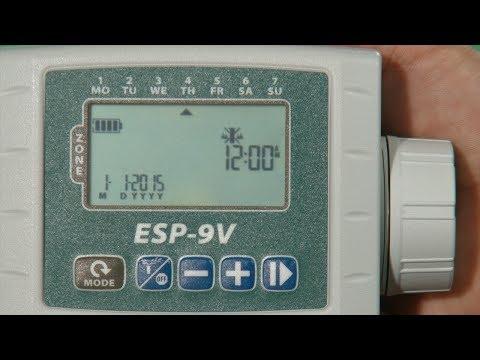 ESP 9V Battery Operated Timer