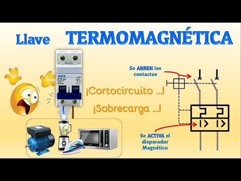 LLAVE TERMOMAGNÉTICA | INTERRUPTOR MAGNETOTÉRMICO | LLAVE TÉRMICA | QUE ES Y CÓMO FUNCIONA