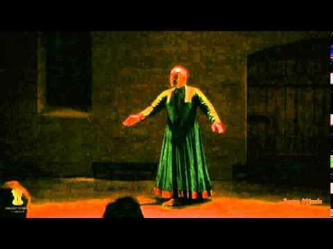 Astad Deboo performing in Riga