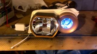 Million color LED demon eyes Audi A4