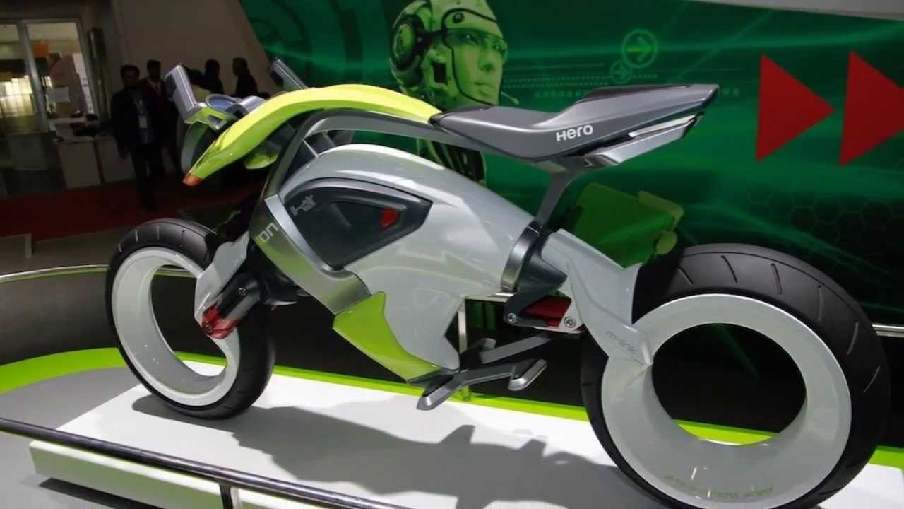 Lithium Ion Battery >> Hero iON Concept Unveil at AutoExpo 2014 - YouTube