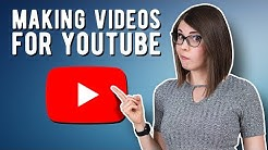 How to start making videos for YouTube!