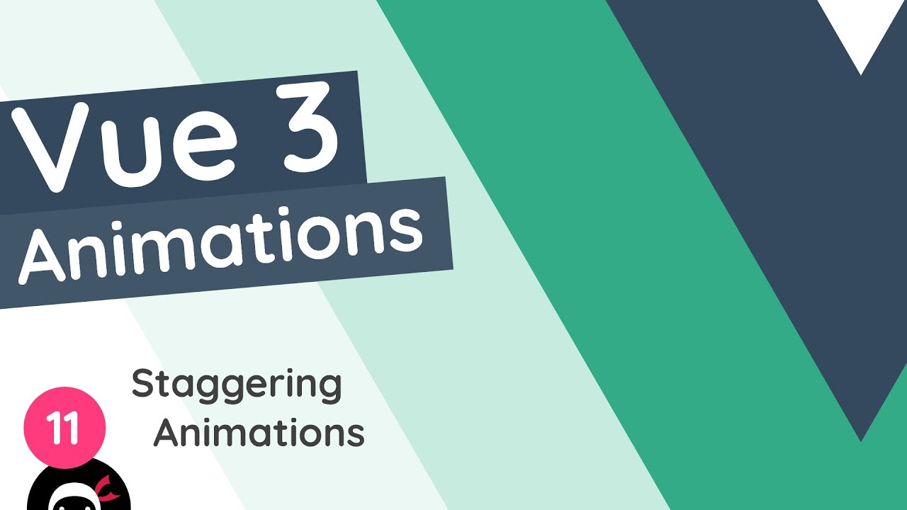 Vue 3 Animations Tutorial - Staggered Animations (using GSAP)