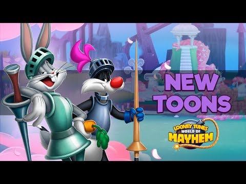 Looney Tunes World Of Mayhem   New Jousting Toons!