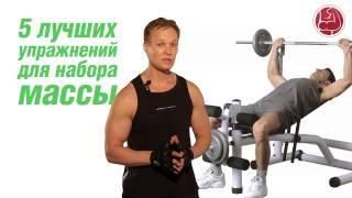 видео Лучшие базовые упражнения со штангой