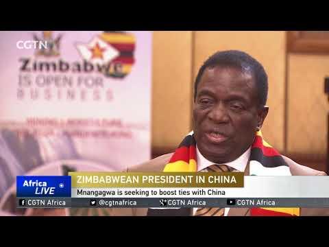 EXCLUSIVE INTERVIEW: Mnangagwa says Zimbabwe open for business