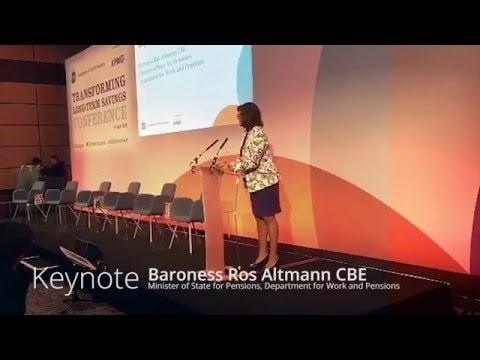 Ros Altmann keynote speech at the ABI Transforming Long-Term Savings Conference 2016