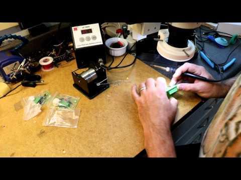 Magic Eye Tube part 1: Building a magic eye tube kit from eBay