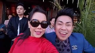 Việt Hương | Đốt 40m pháo khai trương Quán Hương 2018