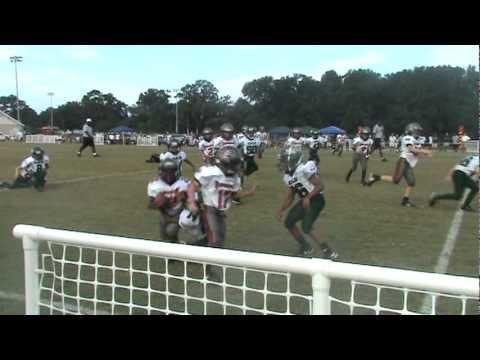 Hard hit by #2 Ryan Jeffords