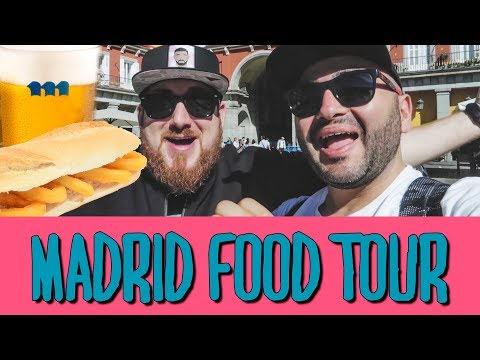 MADRID FOOD GUIDE - TAPAS AND TRAVEL TIPS