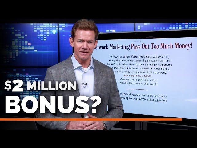 Ridiculous Bonuses in Network Marketing