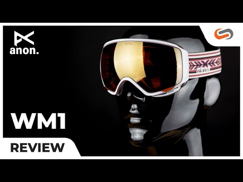 Anon WM1 Review! A GREAT snow goggle for WOMEN!    SportRx