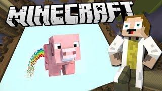 [GEJMR] Minecraft - BuildBattle - Létající Prase, Svíčka, Tučňák