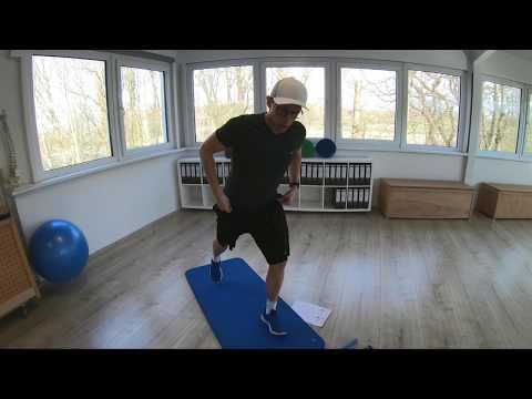 Trainingsplan #5 Stabilisation Hüfte-Knie-Sprunggelenk (Therapie) (Heimtraining)