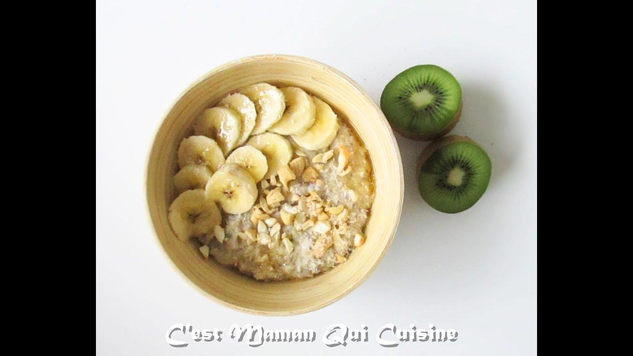 Download Porridge Banane,Coco et Noix de Cajou