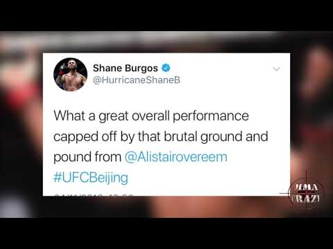 MMA Pros React to Alistair Overeem TKO Sergey Pavlovich at UFC Fight Night Beijing
