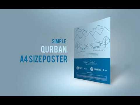 Desain Poster Qurban Sederhana
