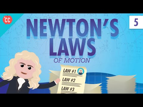 Newton's Laws: Crash Course Physics #5