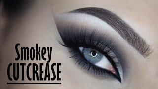 Smokey cutcrease tutorial - Makeupbyan