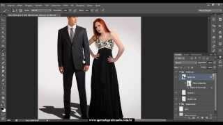 AULA PARTE 02 - Como trocar de roupa no Photoshop CS6