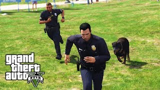 """GTA 5 - """"Gone to the Dogs!"""" LSPDFR Play As Police Episode #140 (Neighborhood Patrol)"""