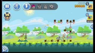 Angry Birds Friends Tournament ● LEVEL 1 ● 190 K HD ● Week 201 ●  POWER UP