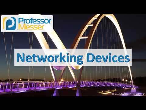 Networking Devices - CompTIA Network+ N10-007 - 2.2