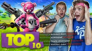 DE TOP 10 MOOISTE MULTI KILLS!! - Fortnite Top 10 ft. Enzo Knol (Nederlands)