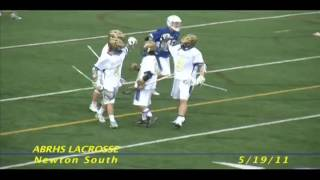 Acton Boxborough Varsity Boys Lacrosse vs Newton South 5/19/11