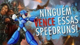 SPEEDRUNS mais impossíveis dos jogos!