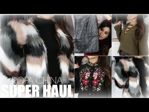 HAUL ROPA CHINA ¿MERECE LA PENA? TRY ON HAUL