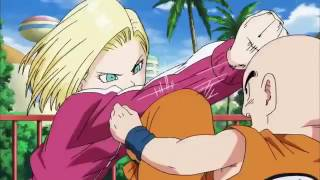 Krillin Vs Android 18 Dragon Ball Super 88 English