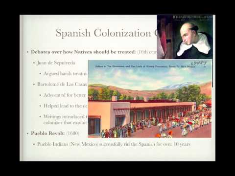 APUSH Review:  Spanish, English, French, and Dutch Colonization (Periods 1 and 2)