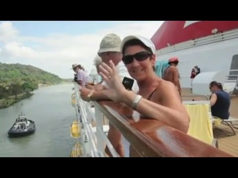 Panama Canal Transit with Cruise Ship