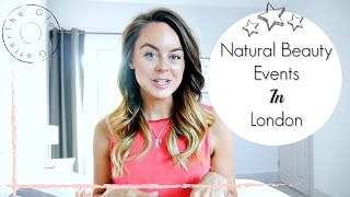 Mother Dirt / Jane Iredale Events in London - Come along with me vlog