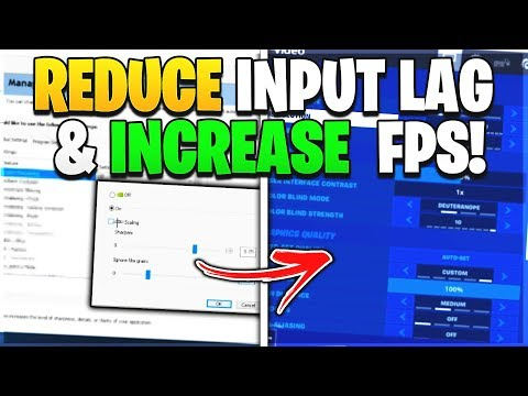 How To Reduce Input Lag & Fix FPS Drops In Fortnite Chapter 2... (NEW METHOD TO INCREASE FPS!)