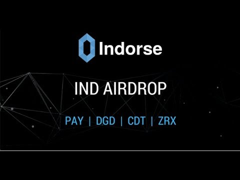 TenX Breaking News - Free Indorse (IND) Tokens for PAY Token Holders - Register for 2X Reward