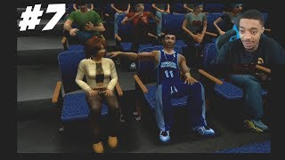 NBA Ballers Phenom Story Mode Part 7 - Took Her On A Date! + BRINGING DOWN THE HOUSE!!
