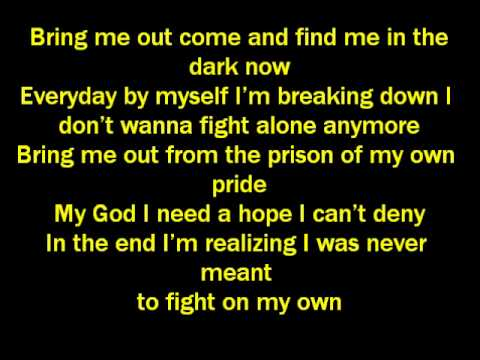 Ashes Remain-On My Own Lyrics