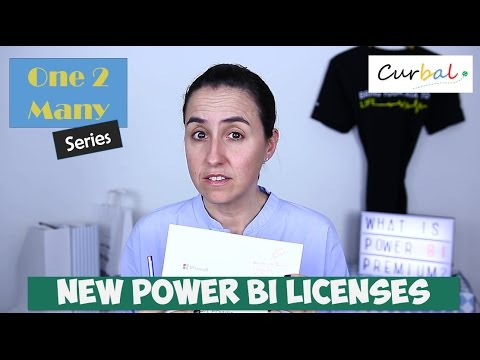 Power BI Premium, Pro and Free models explained - #1 One2Many Series