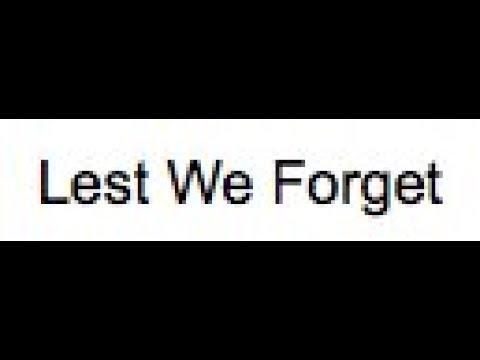 """Arena Episode 2: """"Lest We Forget"""""""