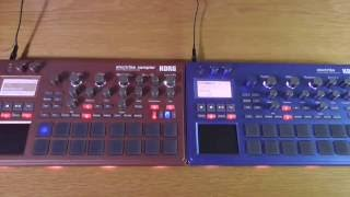 FIRST LOOK! New Electribe 2 Blue / Electribe S Red