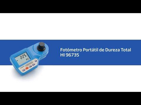 HI 96735 Fotómetro Portátil De Dureza Total