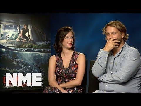 Alexandre Aja And Kaya Scodelario Talk About Crawl And Play Alligator True Or False