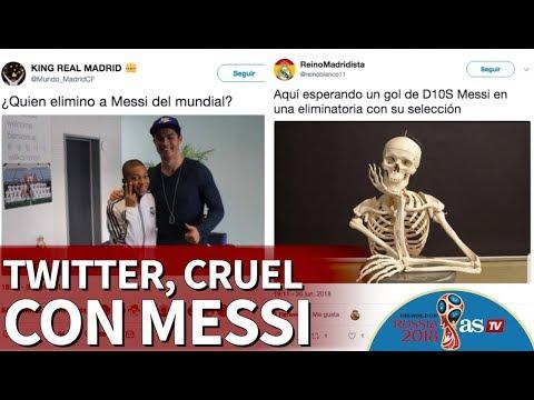 Francia 4-3 Argentina | Twitter fue cruel con Messi tras la eliminación | Diario AS