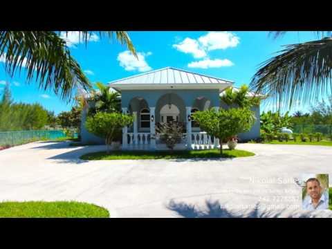 Bahamas Property - BAHAMIA CANAL HOME FOR SALE!