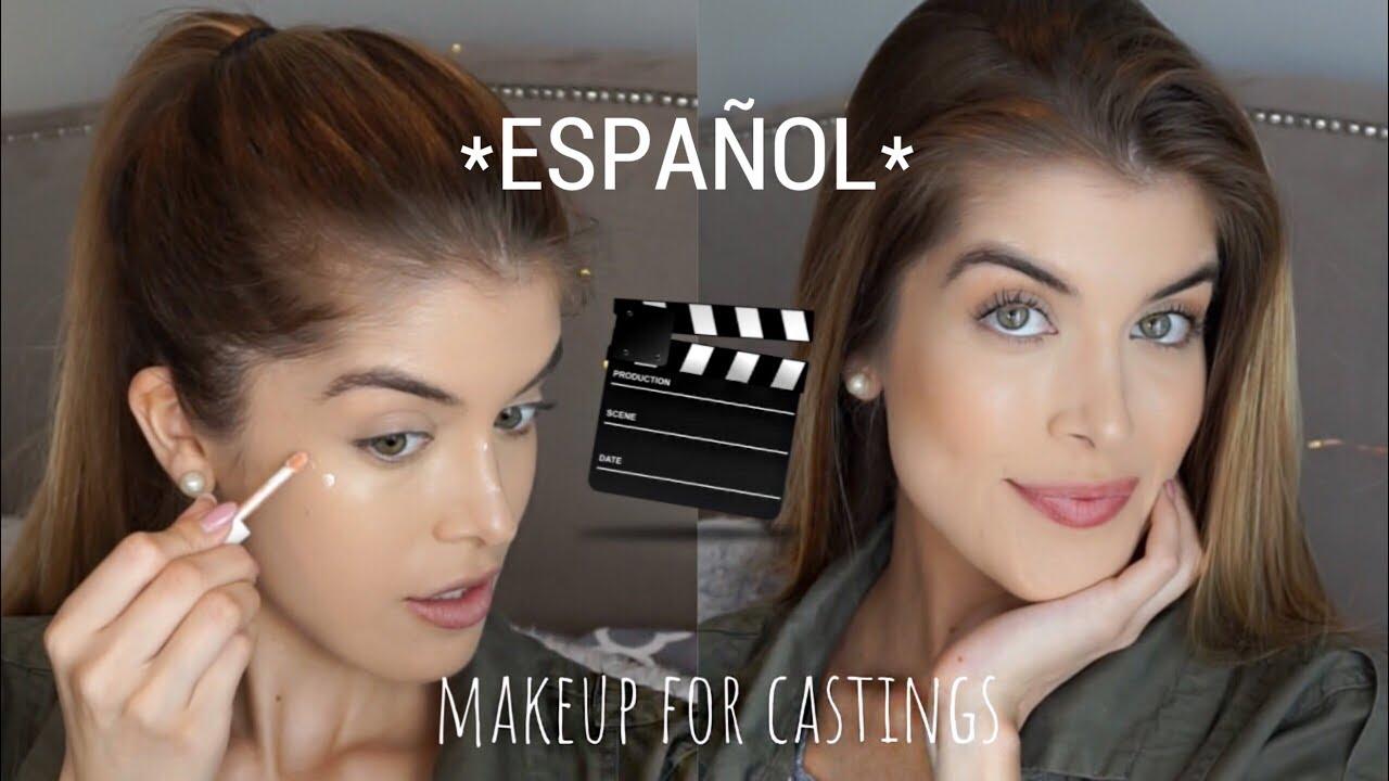 Maquillaje Para Un Casting Catano Glam Youtube